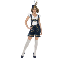 Traditional Deluxe Ladies Edelweiss Bavarian Costume