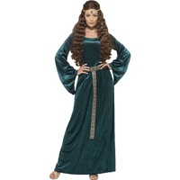Medieval Maid Costume, Green