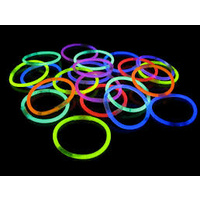 Glow Bracelets with Connectors- Pack of 50